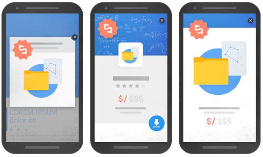 Popups no permitidos por Google con penalización