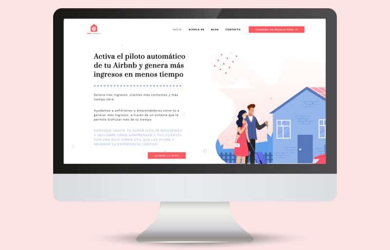 Portfolio de diseño web: trabajo realizado para BNBConversion