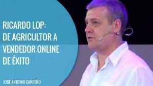 Historia de Ricardo Lop y su tienda online