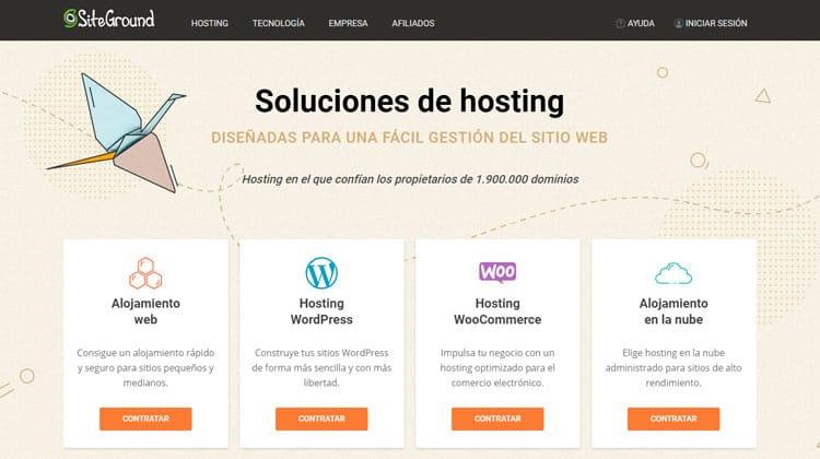 Siteground: el mejor hosting para WordPress.