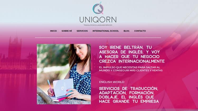 Traductor para crear tu web en varios idiomas.
