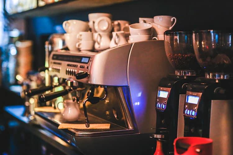 Webs para negocios - Ejemplo de la máquina de café