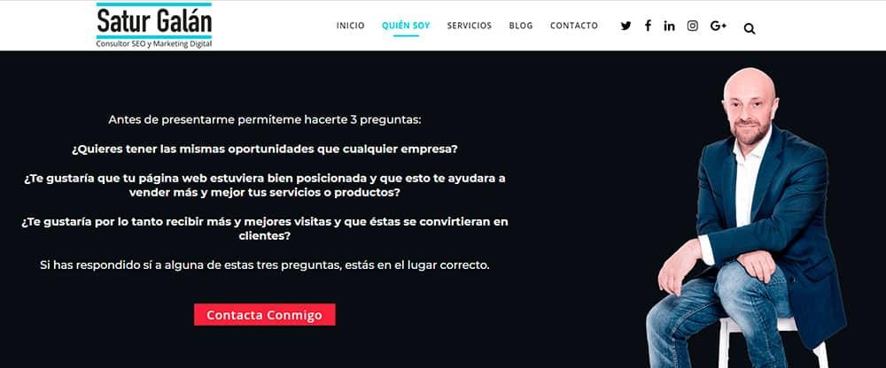 Wordpress SEO con Satur Galán.
