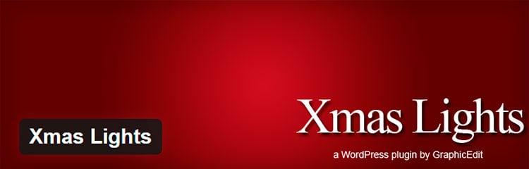 Xmas Lights - Plugins WordPress para Navidad