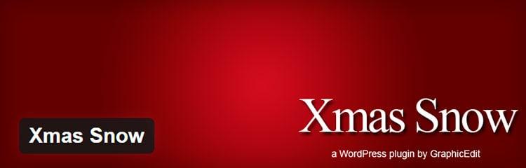 Xmas Snow - Plugins WordPress para Navidad